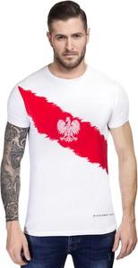 T-shirt Giacomo Conti z bawełny