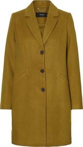 Zielony płaszcz Vero Moda w stylu casual