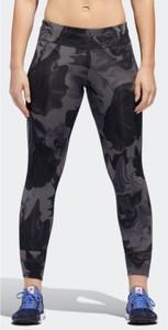 Granatowe legginsy Adidas