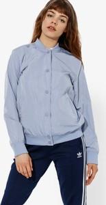 Niebieska kurtka Confront krótka