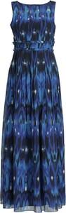 Sukienka iBlues bez rękawów maxi z okrągłym dekoltem