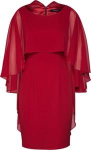 Czerwona sukienka Swing mini