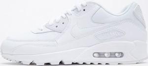Buty sportowe Nike ze skóry sznurowane air max 90