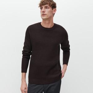 Czarny sweter Reserved w stylu casual z dzianiny