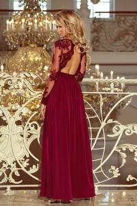 Sukienka N/A z długim rękawem maxi
