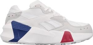 Buty sportowe Reebok Classic sznurowane z zamszu z płaską podeszwą