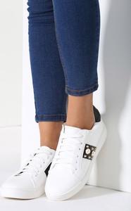 Renee biało-czarne buty sportowe howin