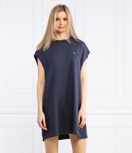Sukienka Tommy Jeans prosta z krótkim rękawem mini