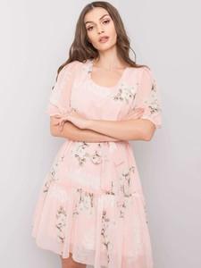 Sukienka Factory Price z bawełny mini z krótkim rękawem