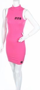 Różowa sukienka Sixth June bez rękawów