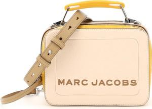 Torebka Marc Jacobs na ramię ze skóry średnia