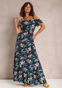 Sukienka Renee z krótkim rękawem hiszpanka maxi