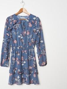 Granatowa sukienka House mini