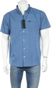 Niebieska koszula RVCA