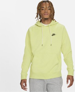 Złota bluza Nike w młodzieżowym stylu z plaru