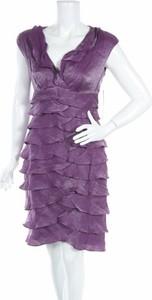 Sukienka London Times mini z dekoltem w kształcie litery v
