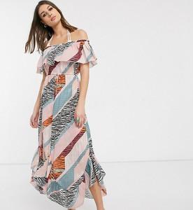 Sukienka Asos z krótkim rękawem