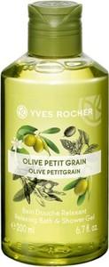 Yves Rocher Relaksujący żel pod prysznic i do kąpieli Oliwka & Petit grain