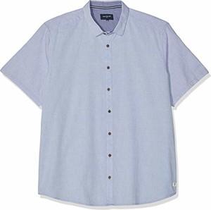 Koszula amazon.de z bawełny z krótkim rękawem