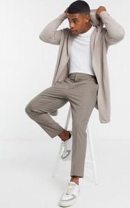 Sweter Asos w młodzieżowym stylu z tkaniny