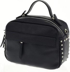 0575e2fc56c czarne torebki z ćwiekami - stylowo i modnie z Allani