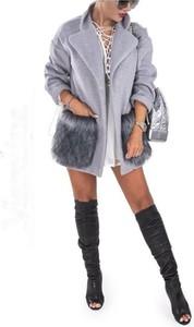 Płaszcz Marelina w stylu glamour