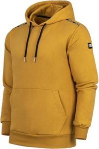 Żółta bluza Patriotic z bawełny w młodzieżowym stylu