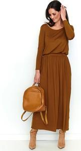 Sukienka Numinou maxi w stylu casual