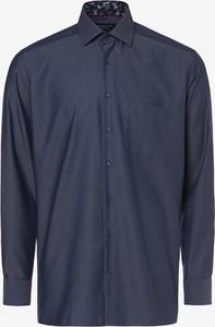 Niebieska koszula Andrew James z bawełny z długim rękawem