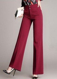 Czerwone spodnie Cikelly w stylu retro