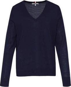 Sweter Tommy Hilfiger w stylu casual z wełny