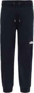 Spodnie sportowe The North Face z bawełny