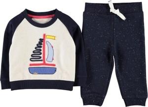 Granatowy dres dziecięcy Crafted dla chłopców