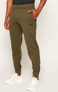 Spodnie sportowe Emporio Armani z dresówki w sportowym stylu