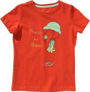 Czerwona bluzka dziecięca tom tailor