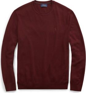 Brązowy sweter POLO RALPH LAUREN w stylu casual