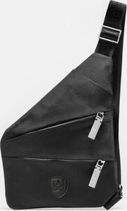 Czarna torba Kazar z tkaniny