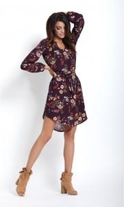 Sukienka Ivon z długim rękawem mini