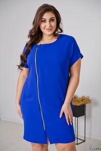 Sukienka tono.sklep.pl z okrągłym dekoltem z krótkim rękawem