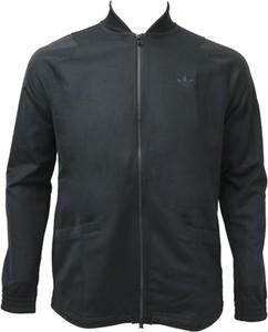 Granatowa bluza Adidas z bawełny