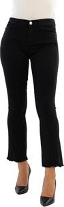 Czarne spodnie Pinko z bawełny
