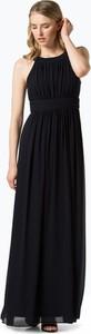 Czarna sukienka Marie Lund prosta bez rękawów maxi