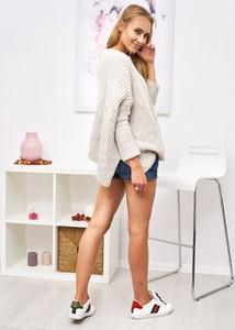 Sweter Ligari z wełny