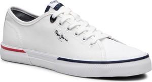 Pepe Jeans Tenisówki Kenton Smart PMS30700 Biały