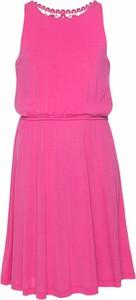 Różowa sukienka dziewczęca ARIZONA z dżerseju
