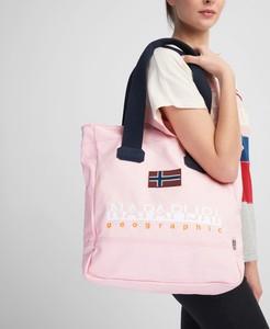 d9c808b671a00 Różowa torba sportowa Napapijri