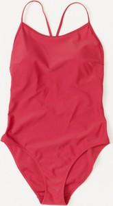 Czerwony strój kąpielowy Outhorn w stylu casual