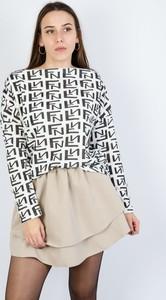 Bluzka Olika z długim rękawem w stylu casual
