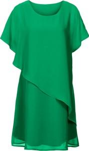 Zielona sukienka bonprix BODYFLIRT boutique