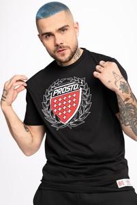 Czarny t-shirt Prosto.